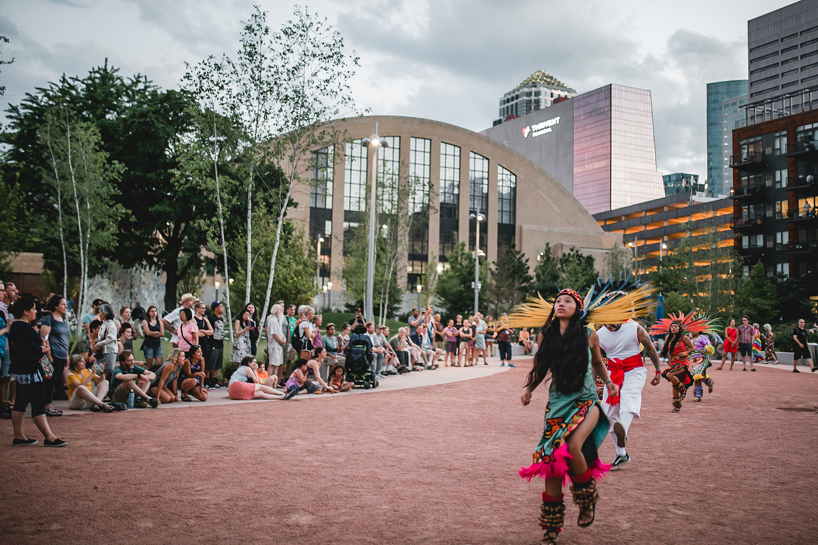 Native Dancers at the Commons